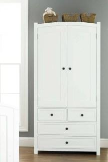 ideas of white wicker wardrobes