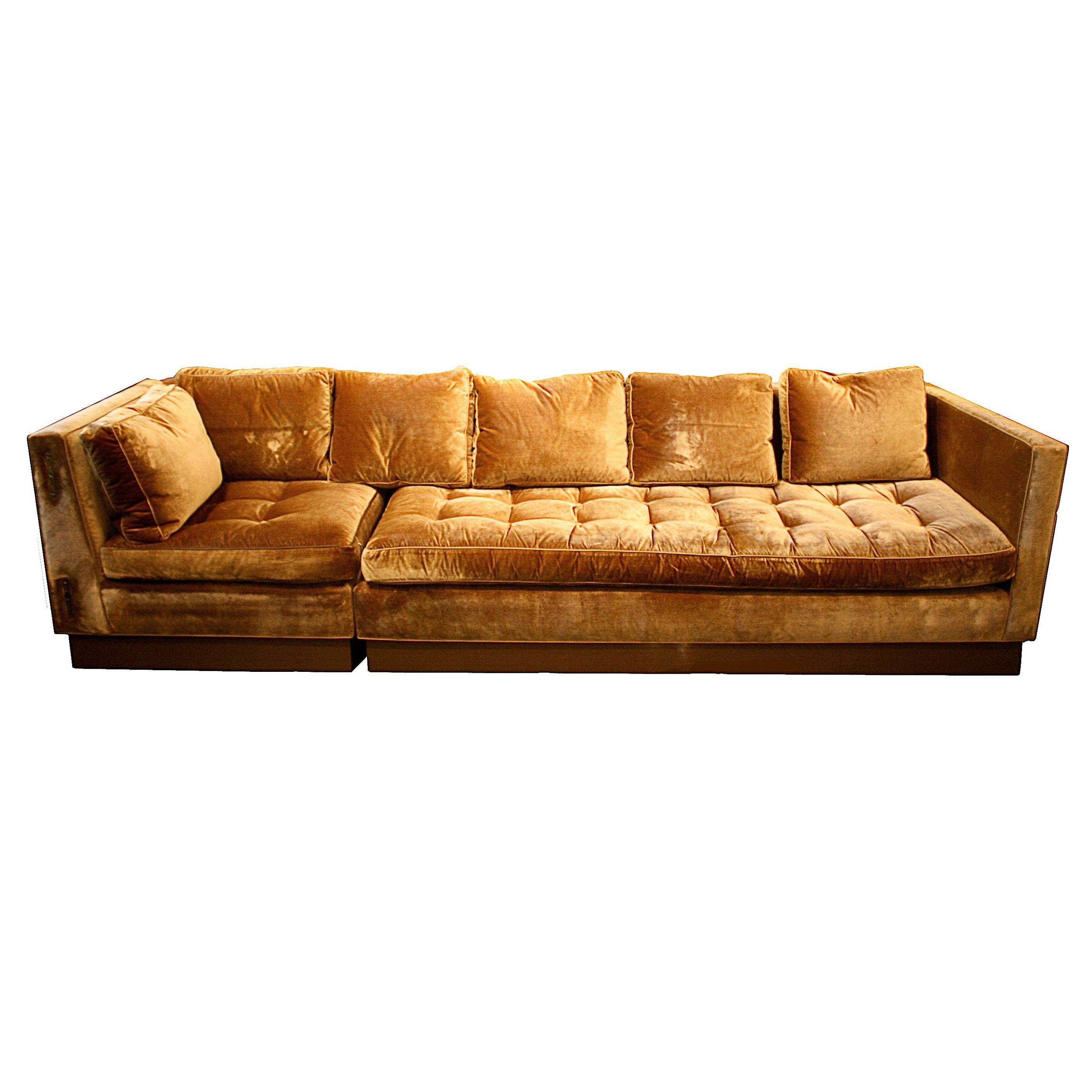 25 The Best Gold Sectional Sofa  sc 1 st  Centerfieldbar.com : gold sectional sofa - Sectionals, Sofas & Couches