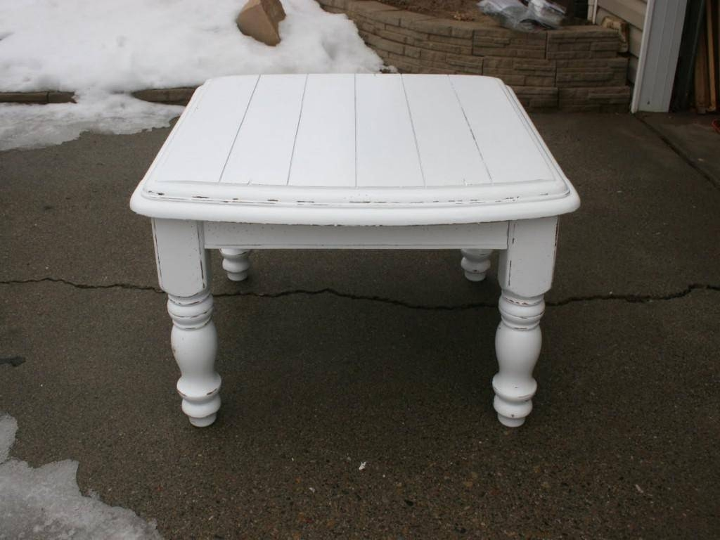 2019 Latest French White Coffee Tables