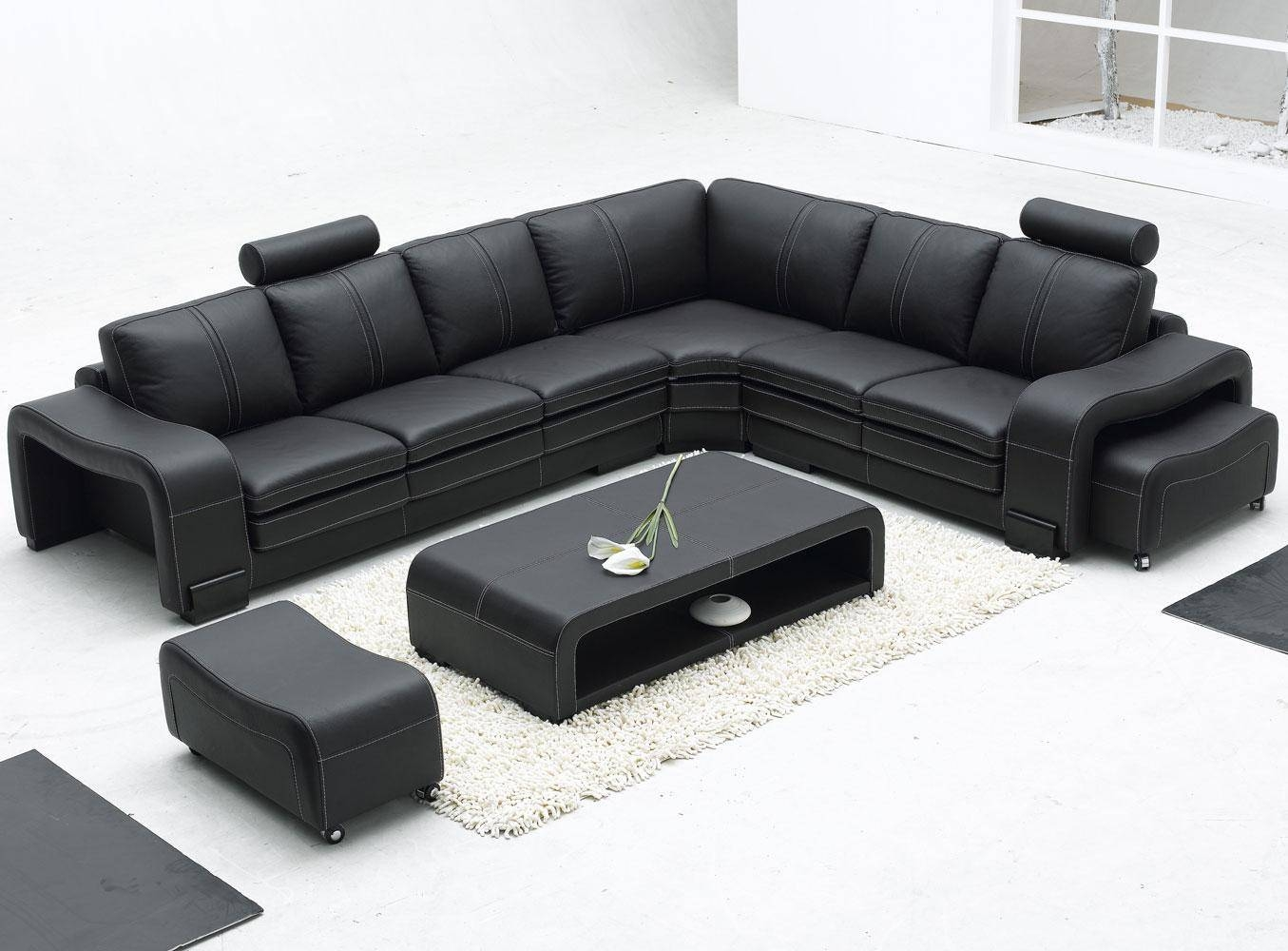 modern bonded leather sectional sofa with recliners four seater sofas fabric 2018 popular long