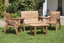 Of Wooden Garden Coffee Tables