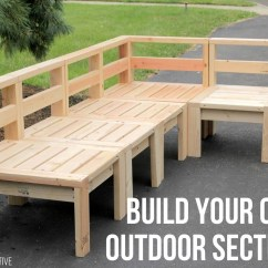Build Outdoor Sectional Sofa Cushion Replacements Uk 30 Collection Of Diy Plans