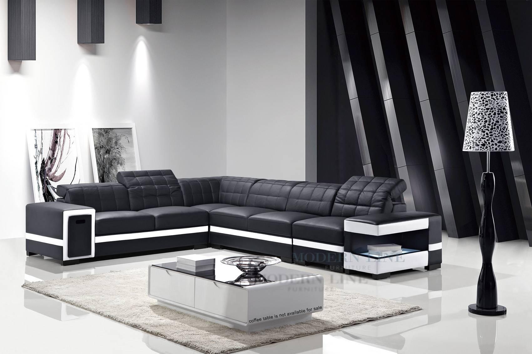 black white sofa set decoro sectional top 30 of and sofas