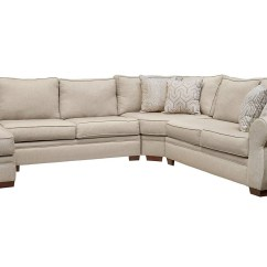 Leather And Chenille Sofa Outdoor Metal Corner 30 Best Ideas Of Sectional