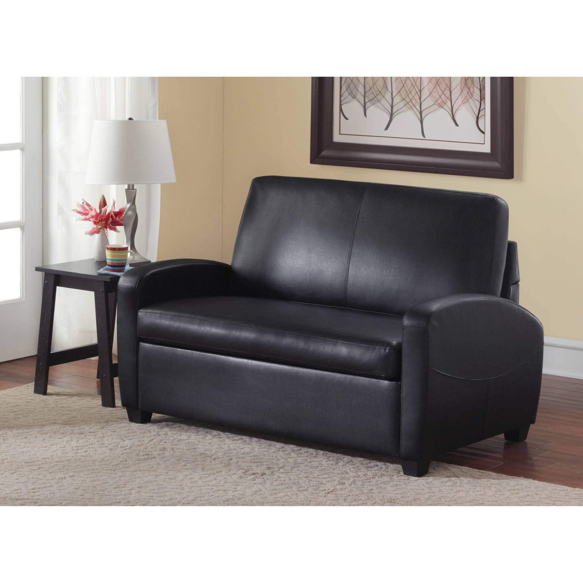 mainstays sofa sleeper with memory foam sofatti saddle top 30 of loveseat twin sofas