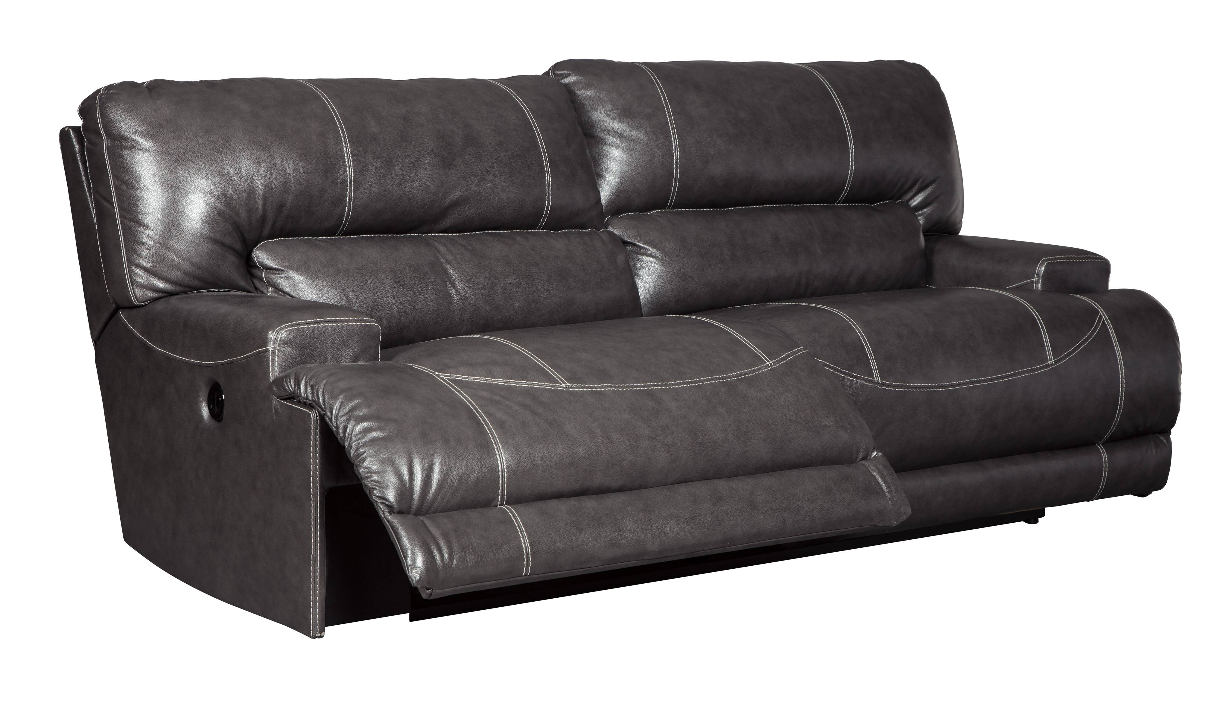contemporary reclining sofa leather dark gray sets 30 the best 2 seater recliner sofas