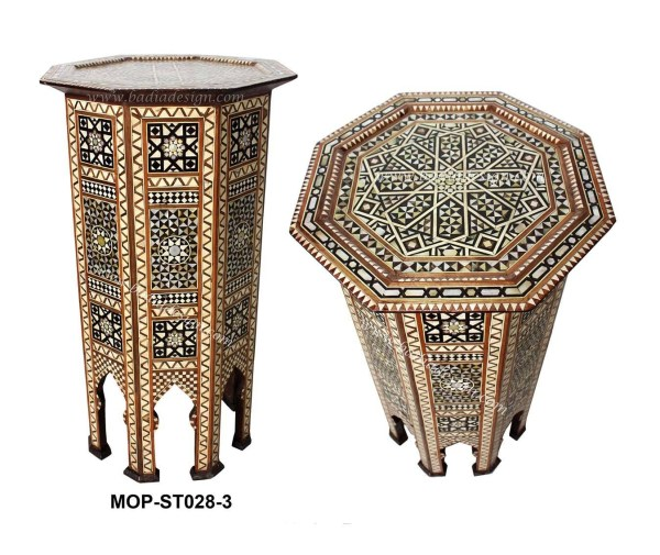 Mother of Pearl Inlay Moroccan Table
