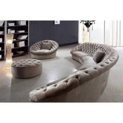 Oval Sofa Keegan Smith Sofascore Monaco Curved Ottoman Valley Leather