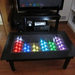 Led Table And Chairs How To Make Chair Covers For Birthday Party 30 Photos Coffee Tables