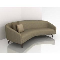 Small Round Sofa Set Kincaid Simone Slipcover Rounded Sit Pretty On Tiamat 200 Lounge Rounding