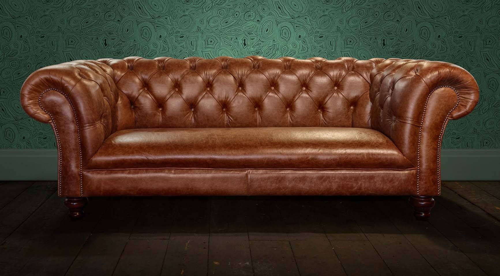 chesterfield leather sofa outdoor rattan covers 30 ideas of small sofas