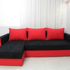 Black And Red Sofa Bed 3 Seater Beds Uk 25 Collection Of