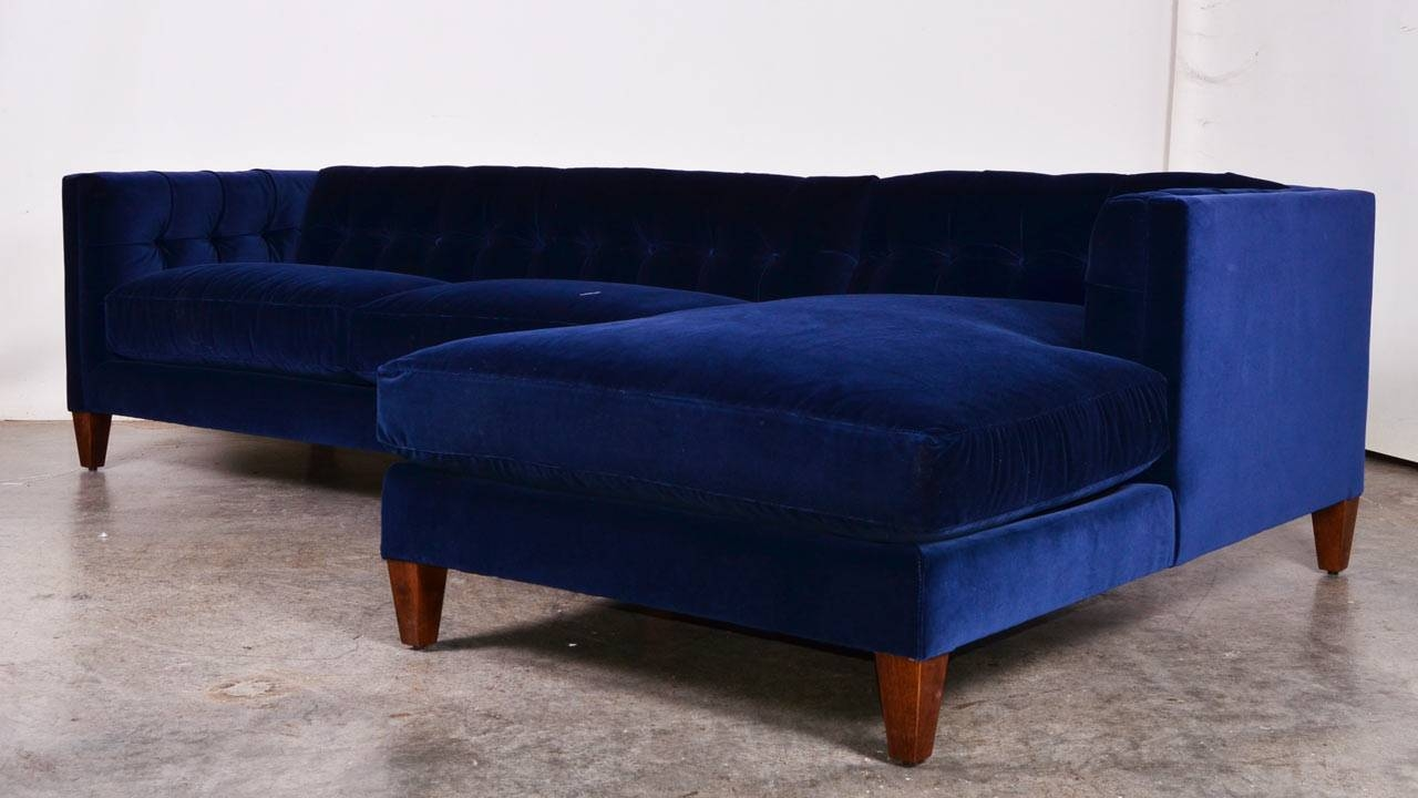 Royal Blue Sectional Sofa With Chaise : blue sectional sofa with chaise - Sectionals, Sofas & Couches