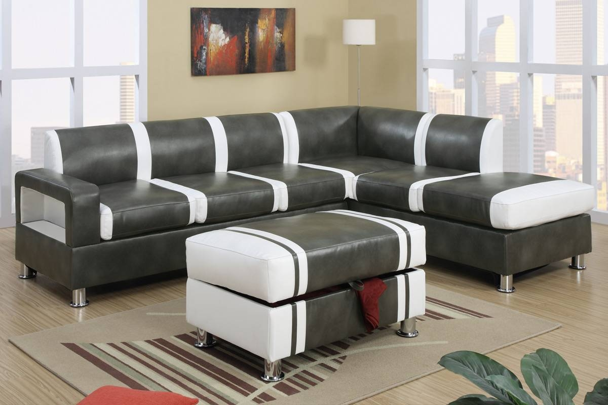 t57b ultra modern leather sectional sofa kendall sears 25 best collection of faux sofas