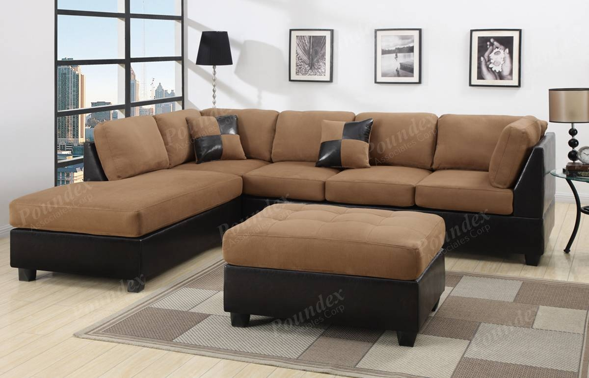 The Best Chocolate Brown Microfiber Sectional Sofas