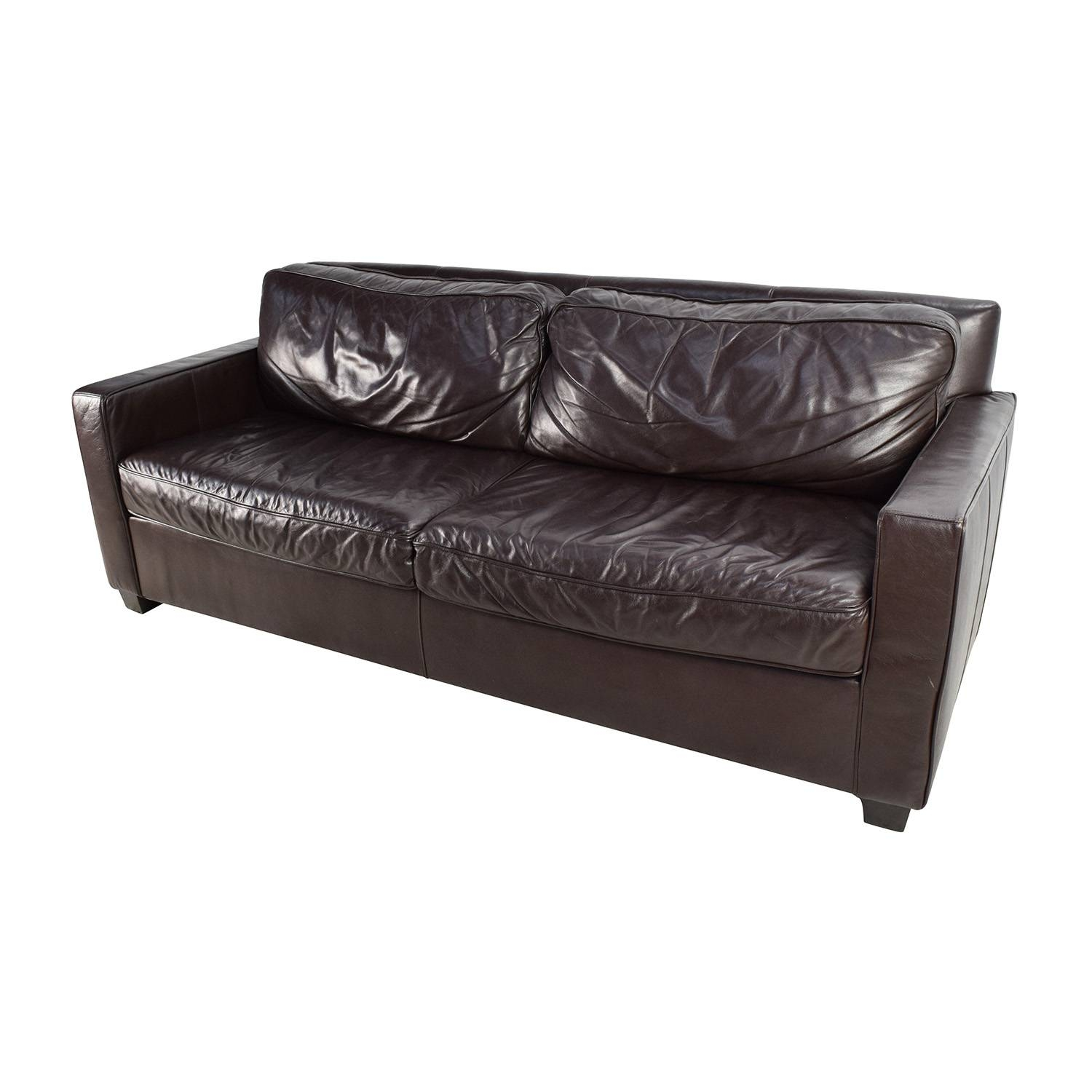 west elm leather sofa reviews tribecca home knightsbridge tufted scroll arm chesterfield 15 best collection of henry sofas
