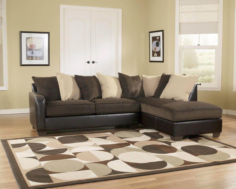 Ashley Corduroy Sectional Sofa Centerfieldbar Com : brown corduroy sectional - Sectionals, Sofas & Couches