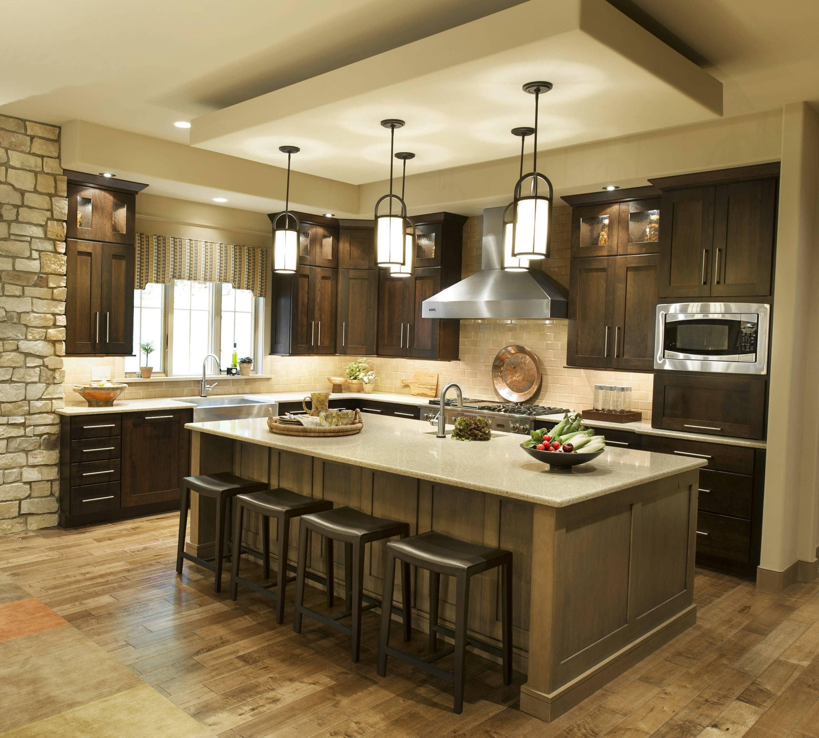 15 Inspirations of Double Pendant Lights for Kitchen