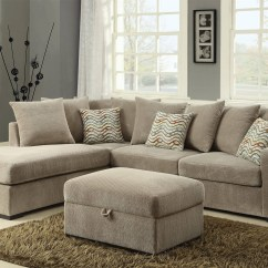 Chenille Sectional Sofas With Chaise Century The Best