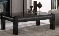 15 Ideas of Modern Black Glass Coffee Table