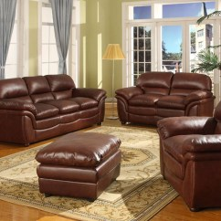 Well Full Leather Beige Sofa Set Ottoman Brand Reviews 2018 Latest Burgundy Sets