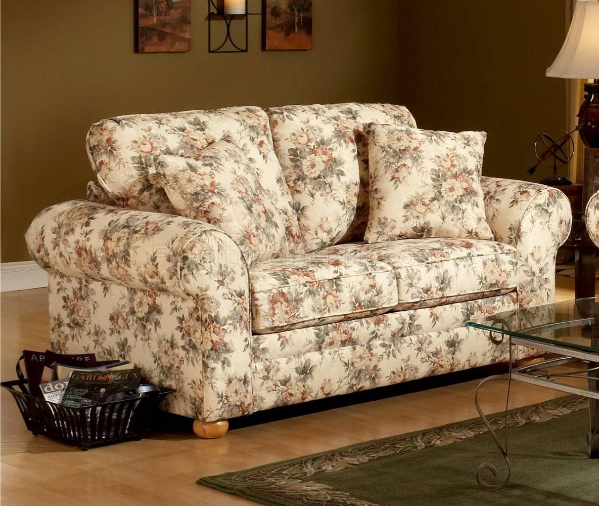 flower sofa covers knoll history the best floral slipcovers