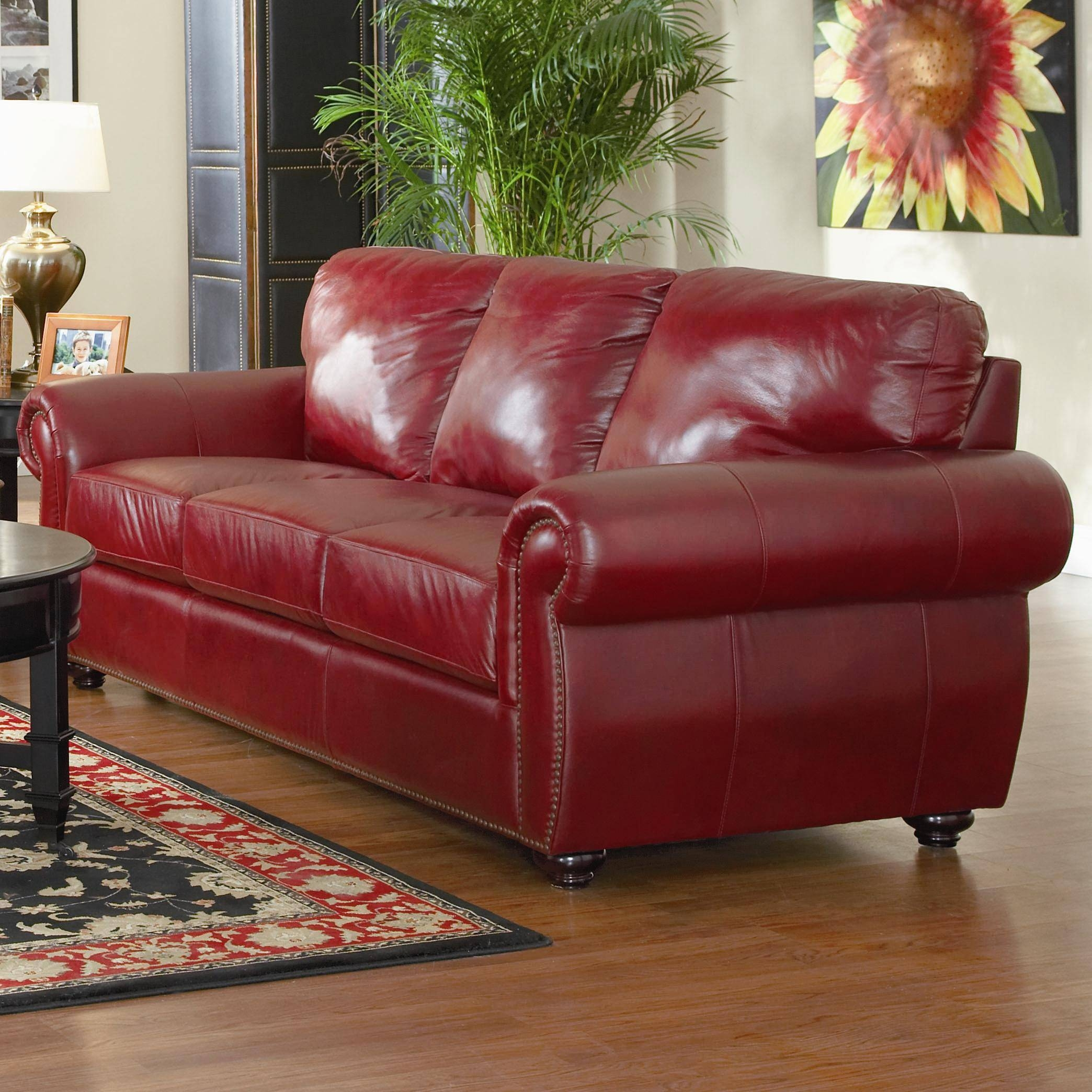 burgundy leather sofa and loveseat broyhill 2018 latest sets