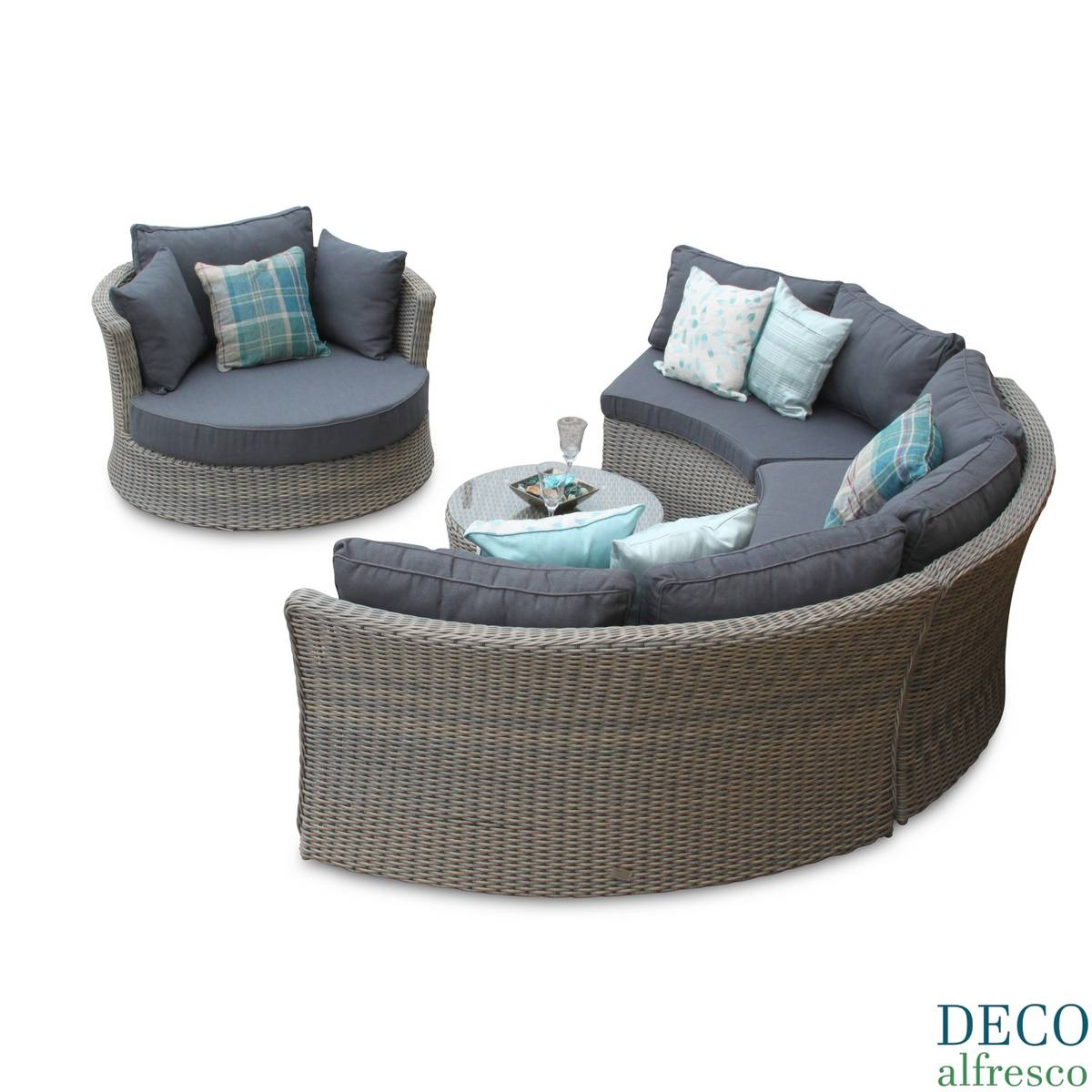 rattan half moon sofa set how to clean white upholstery the best sofas