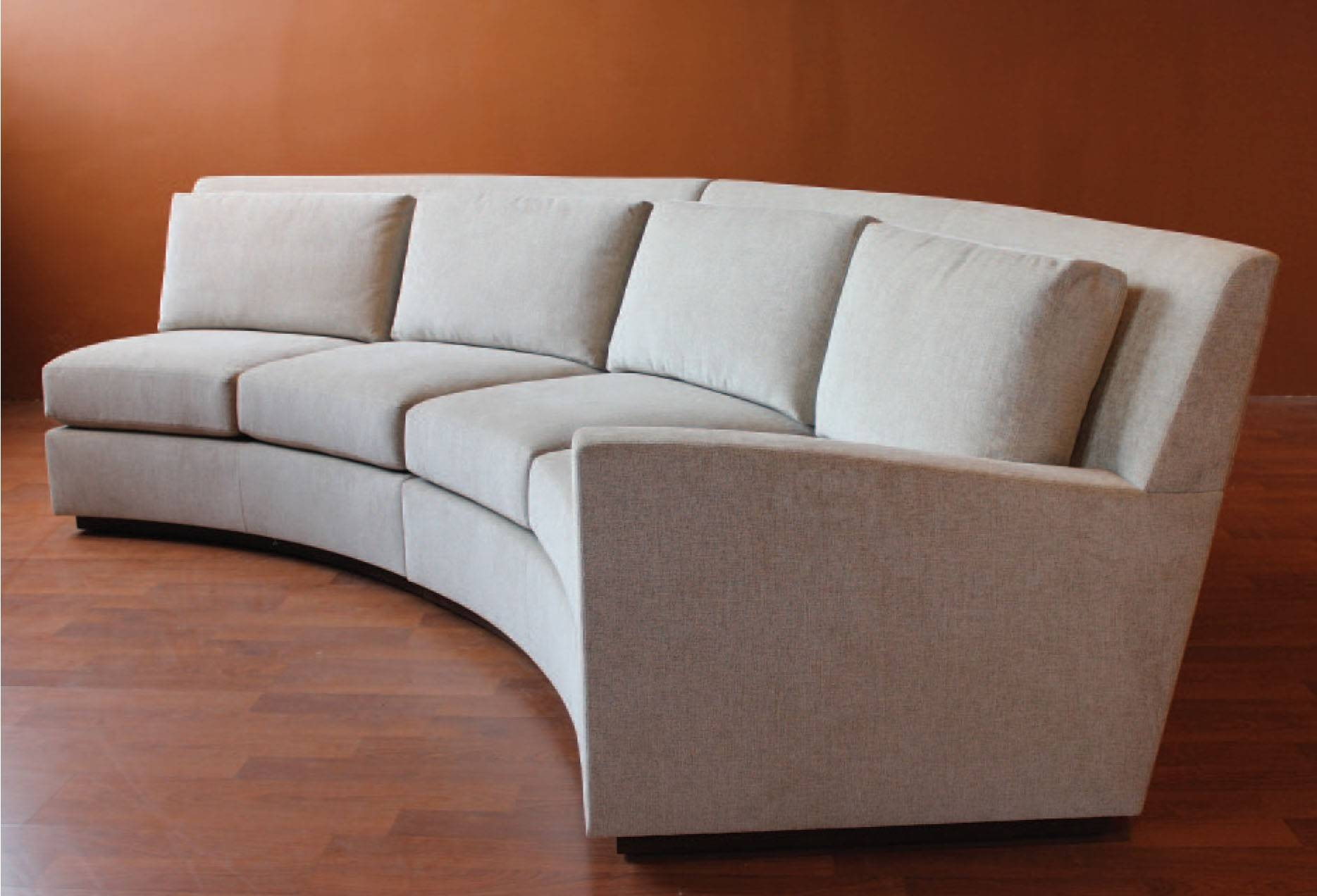 circular sofas yakoe 4 seater rattan sofa set black 15 photos semi round sectional