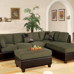 Olive Green Sofa Living Room Ideas Leather Vs Fabric India 15 Best Collection Of Sectional Sofas