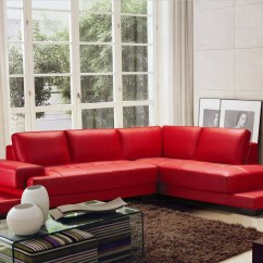 Red Leather Sofa Sets On Sale 3 Seater Recliner Uk 15 Photos Black And