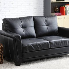 Vinyl Sectional Sofa Black Table Canada Best 15 43 Of Sofas