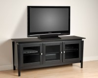 Best 15+ of Black Corner Tv Cabinets With Glass Doors