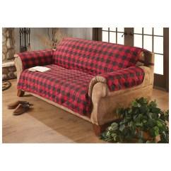 Sure Fit Black Sofa Slipcover Walmart Stretch Buffalo Check Cover Deluxe Pet ...