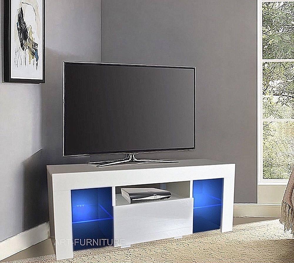 2019 Latest White Corner Tv Cabinets