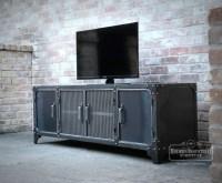 15 Best Industrial Metal Tv Stands