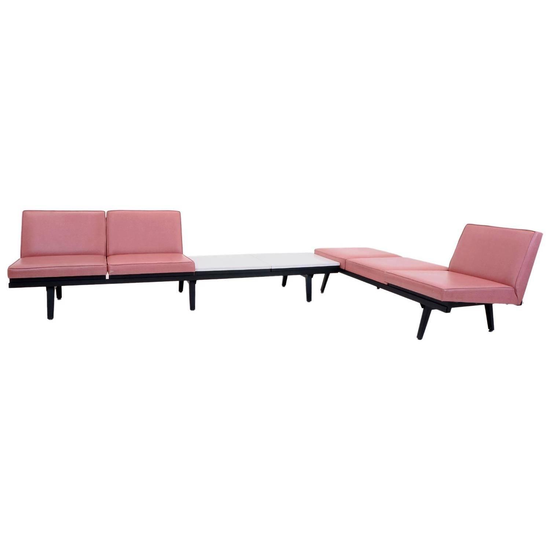 steel frame sofa black sleeper sofas sale 15 best george nelson