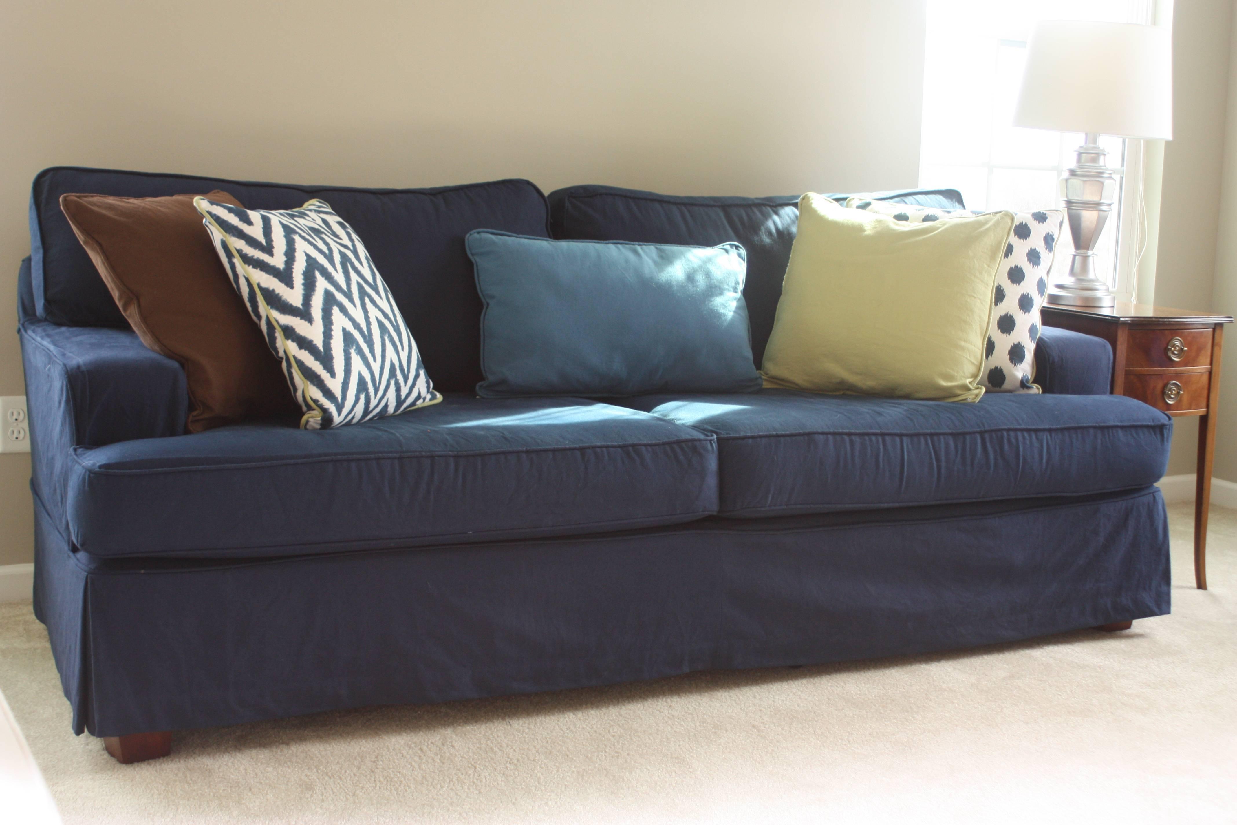 denim sectional sofa slipcovers vs loveseat for sofas inspiration ideas slip
