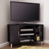 Best 15+ of Black Corner Tv Cabinets With Glass Doors