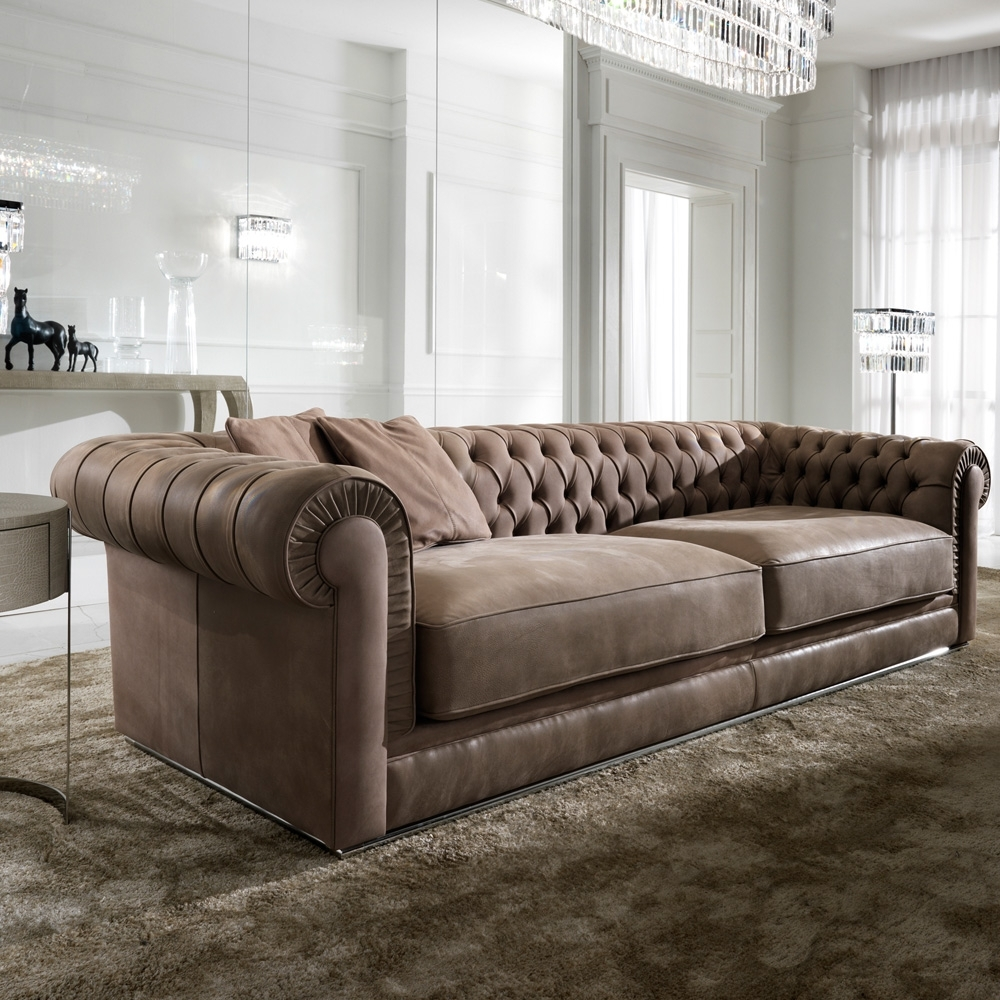 2018 latest high end leather sectional sofas
