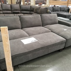 Large Sectional Sofa With Ottoman Best Clean Leather 2018 Popular Couches