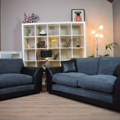 Black 3 Seater Sofa And Cuddle Chair Antique French Bed 10 Best Collection Of Sofas Chairs