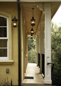 Hang Outdoor Lights On Stucco