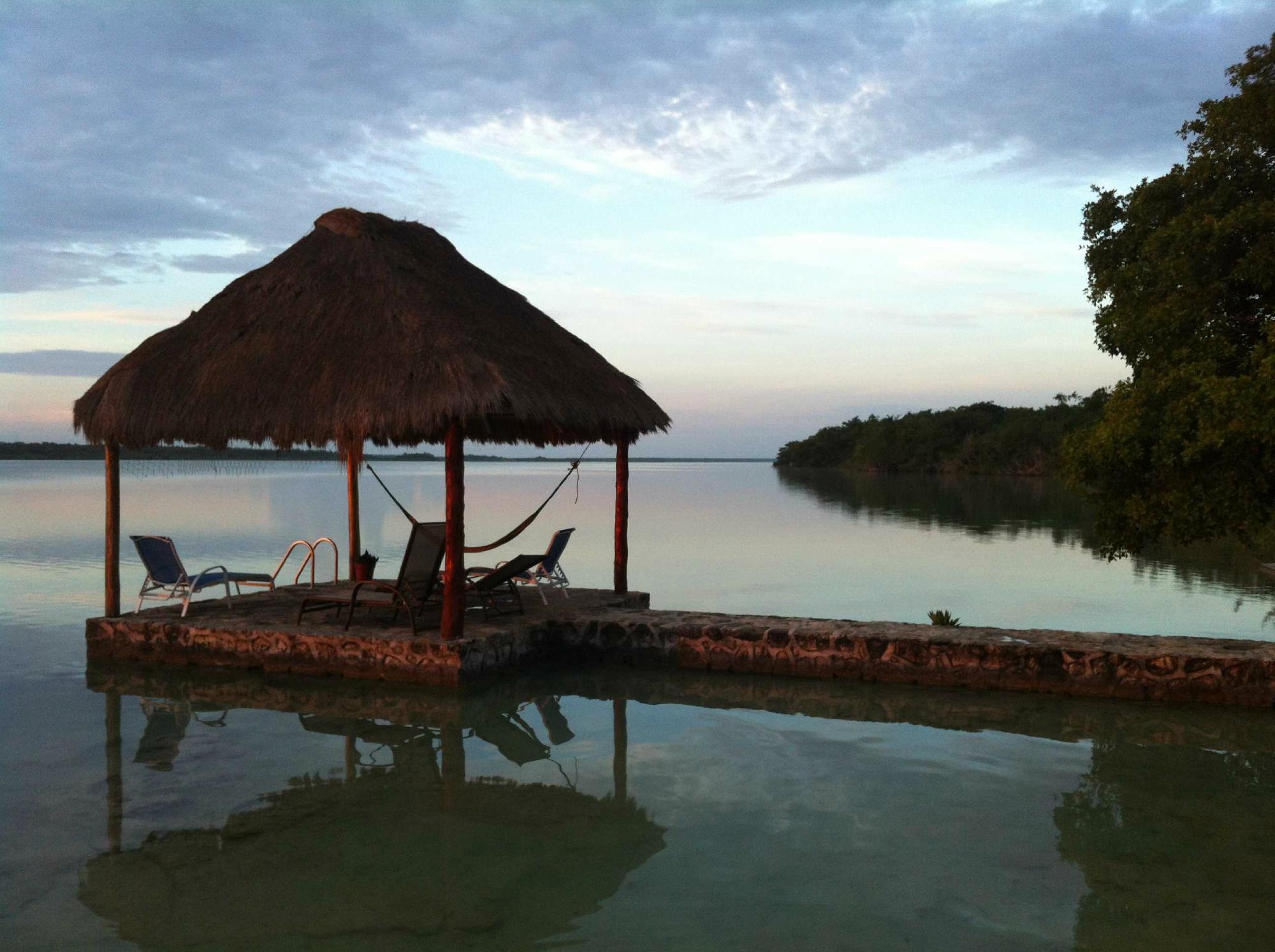 Visitamos Hotel Lagoon Resort en Bacalar
