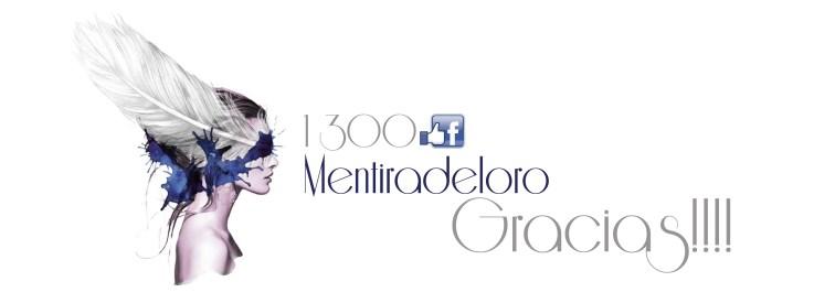 1300 likes on facebook