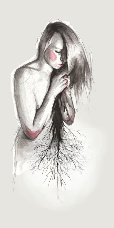 And then her soul withered