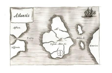 Map of Atlantis