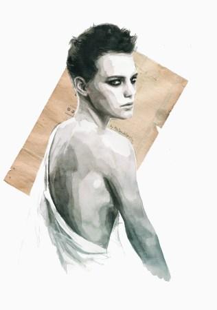 Handmade love (portrait of Erika Linder)