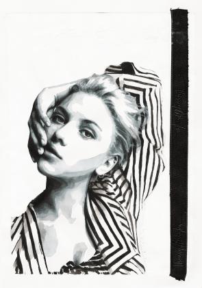 I'm well aware I'm a danger to myself (Portrait of Scarlett Johansson)