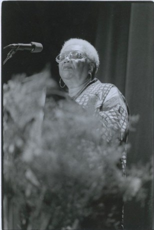 2002 - Lucille Clifton reading at poetry benefit